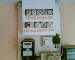 old type fuse board